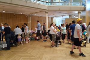 Secondhand-Basar bei der Messe Hallo Baby! in der Stadthalle Holzminden