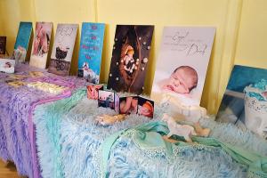 Kinderfotografien bei der Messe Hallo Baby! in der Stadthalle Holzminden