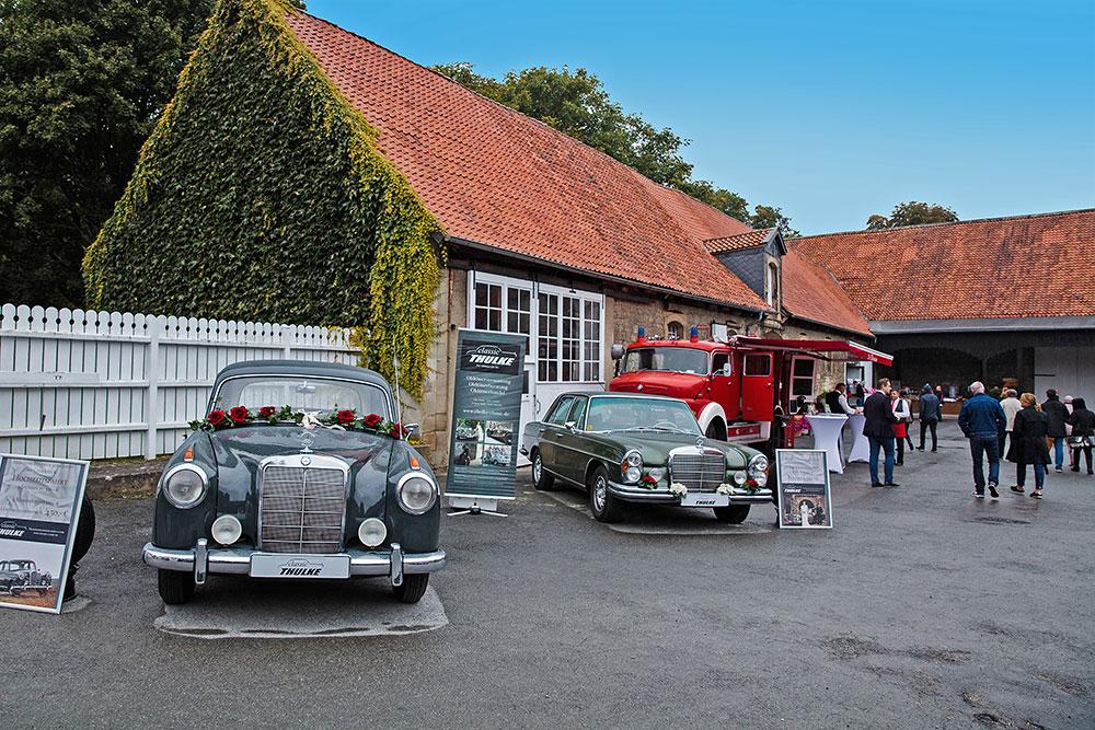 Foto Oldtimer - Hochzeitsmesse auf Schloss Oelber