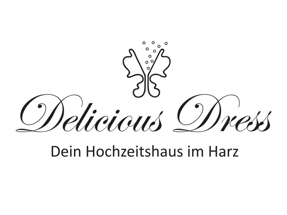 Logo Delicious Dress - Aussteller Hochzeitsmesse Schloss Oelber 2019
