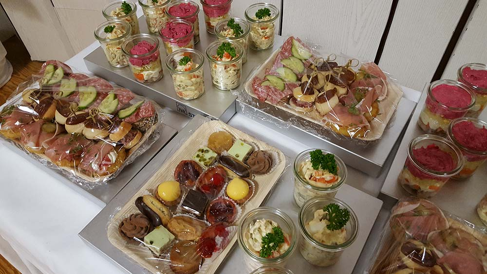 Foto Catering auf Netzwerktreffen für Hochzeitsdienstleister Niedersachsen