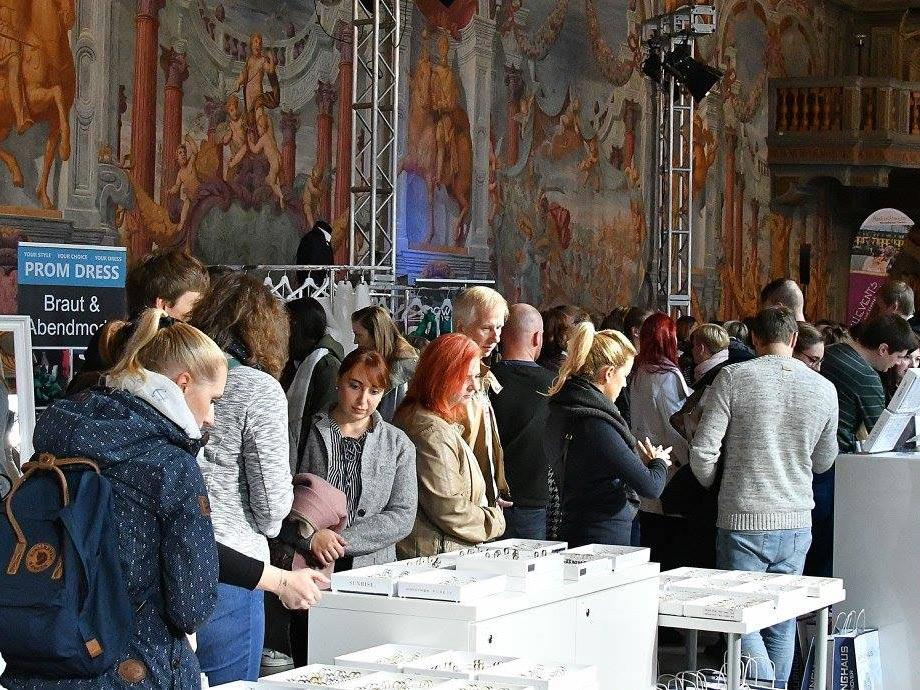 Foto Messebesuch Hochzeitsmesse Hannover