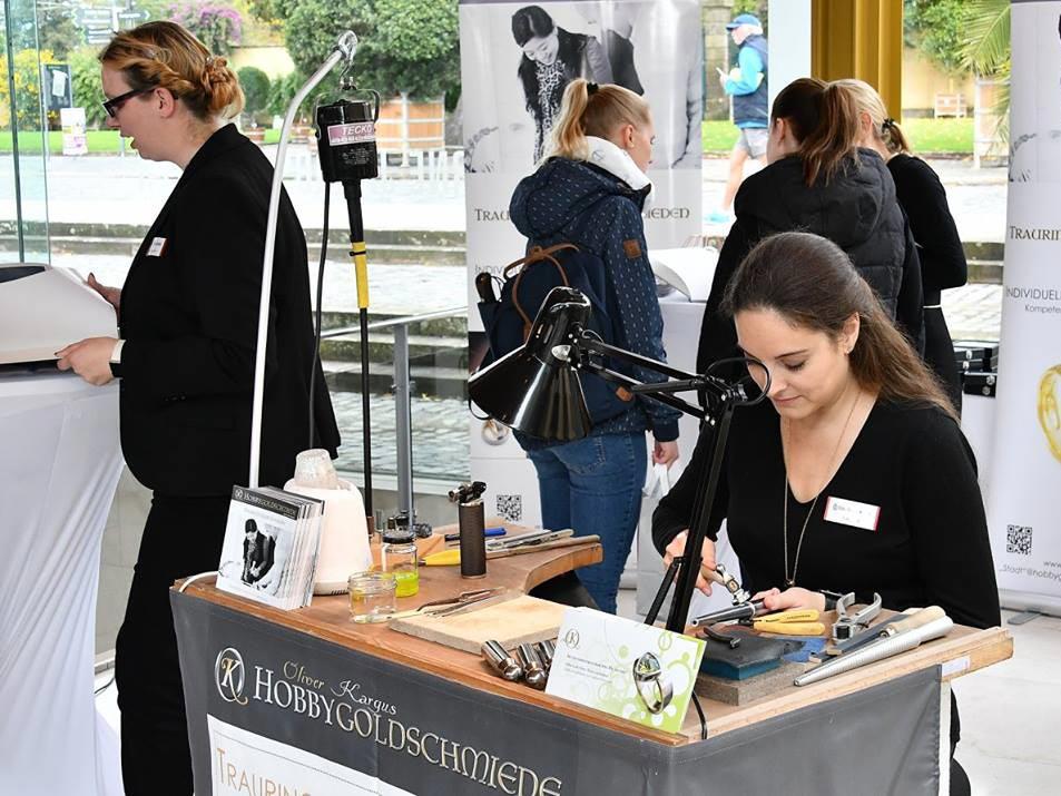 Foto Goldschmiede Eheringe Hochzeitsmesse Hannover