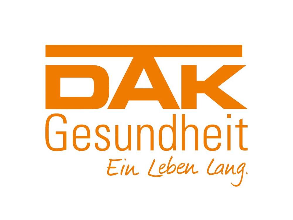 Logo DAK Gesundheit - Aussteller Hochzeitsmesse Schloss Oelber 2019