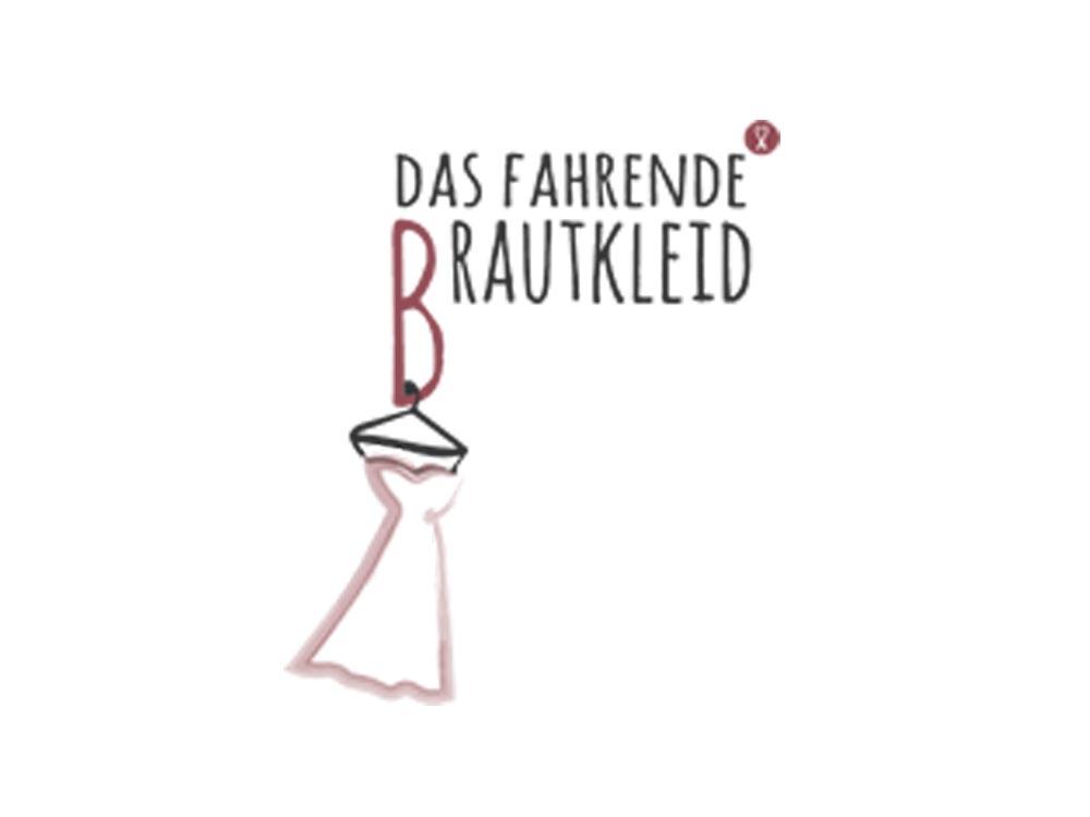 Logo das fahrende Brautkleid - Aussteller auf Hochzeitsmesse Schloss Oelber 2019