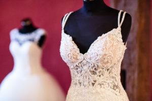 Foto Brautkleid Hochzeitsmesse auf Schloss Oelber 2019