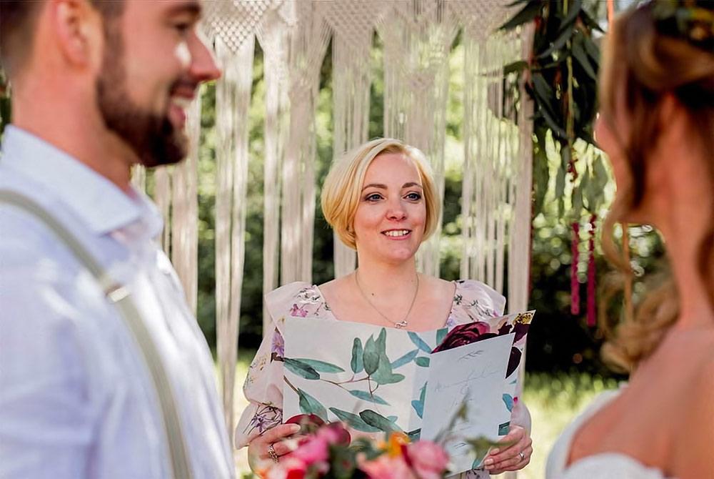 Foto Birgit Seidel - freie Traurednerin - Highlights Hochzeitsmesse Hannover