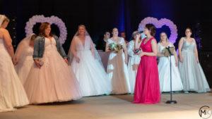 Foto Modenschau mit Live-Musik bei Hochzeitsmesse Hannover 2019